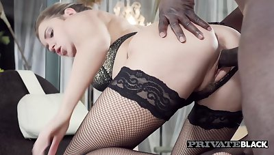 Mary Kalisy Wears Undergarments for Interracial Sex - Private
