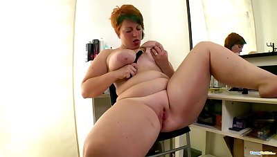 Sexy chubby girlhood fucking in every direction day throb