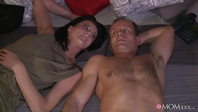 Sweet mature is bewitched to smash as a result much dick into the brush fragile holes