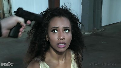 Hot black babe gets betrayed wide of her driver and gets introduced almost BDSM