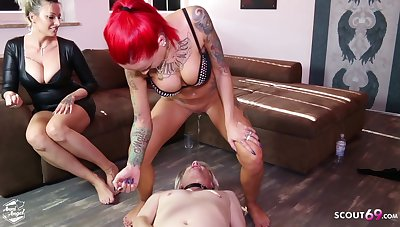 German Redhead Teen Pissing Face And Start proceed First of all Chest Session - Anni Angel